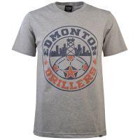 Edmonton Drillers - Grey T-Shirt