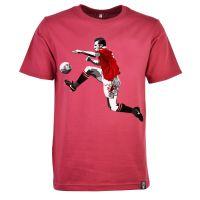 Miniboro - Cantona T-Shirt - Maroon