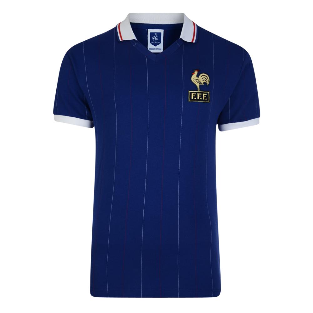 France 1982 Coupe du Monde Maillot