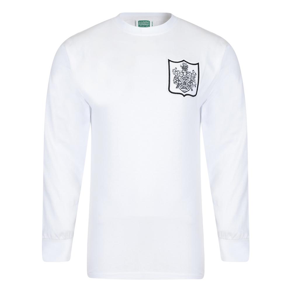 Fulham 1966 No10 Long Sleeve Retro Football Shirt