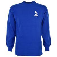 Oldham Athletic 1970s Retro Football Shirt
