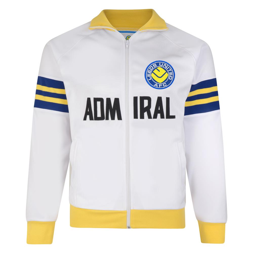 Leeds United 1978 Admiral Retro Track Jacket