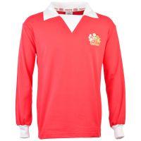 Manchester United 1970s Long Sleeve Retro Football Shirt