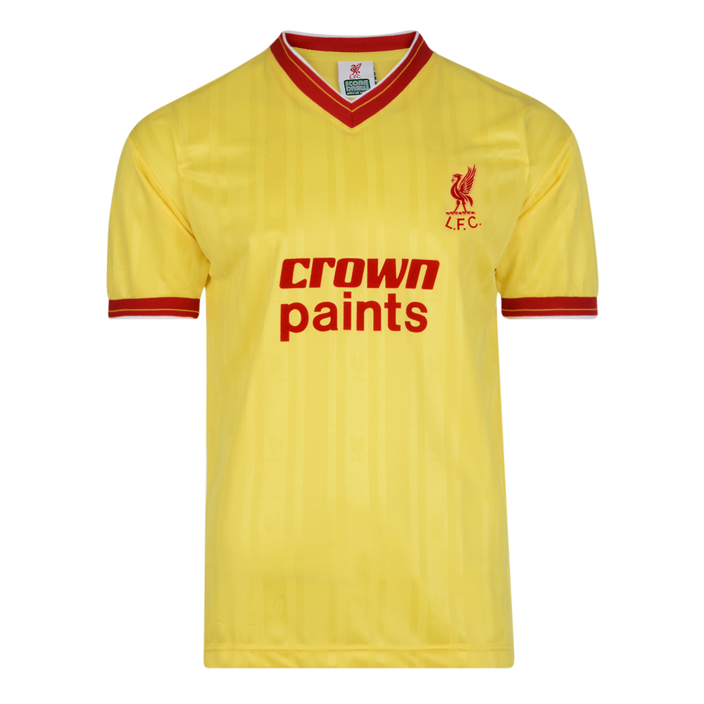 Liverpool FC 1986 Away Retro Football Shirt