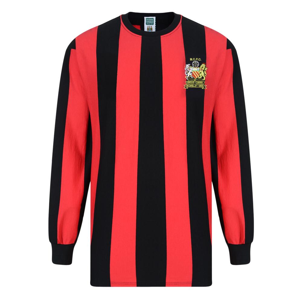 Manchester City 1969 FA Cup Final Retro Shirt