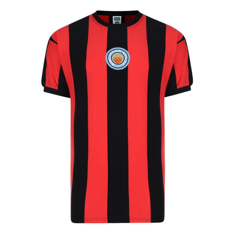 Manchester City 1970 No8 Away Retro Shirt