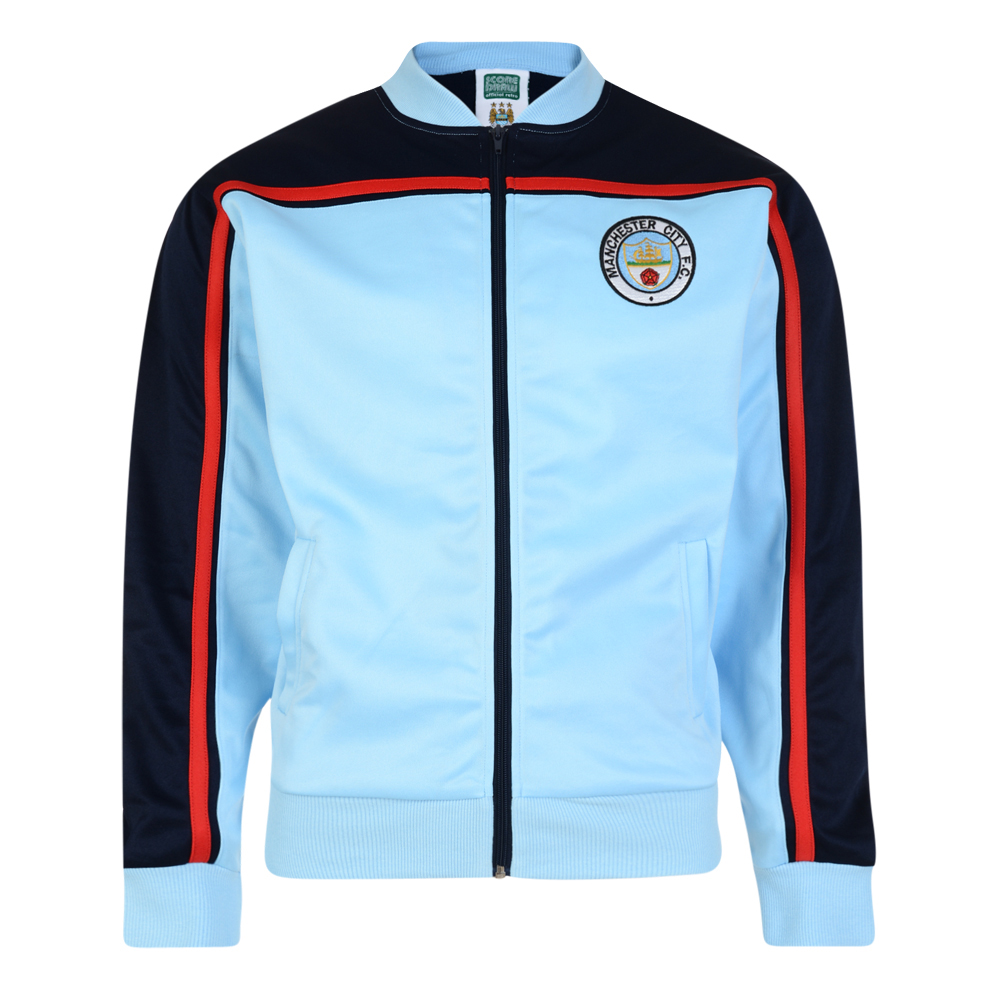 Manchester City 1982 Retro Track Jacket