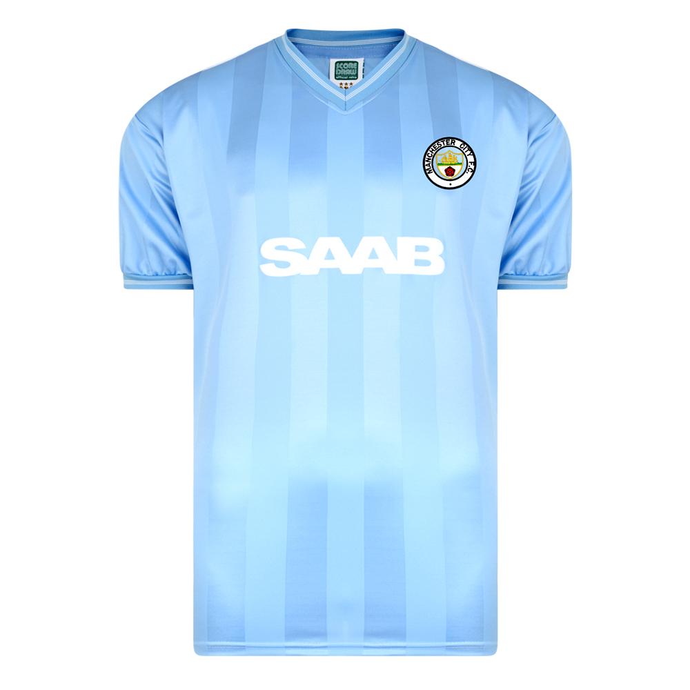 Manchester City 1984 Retro Football Shirt