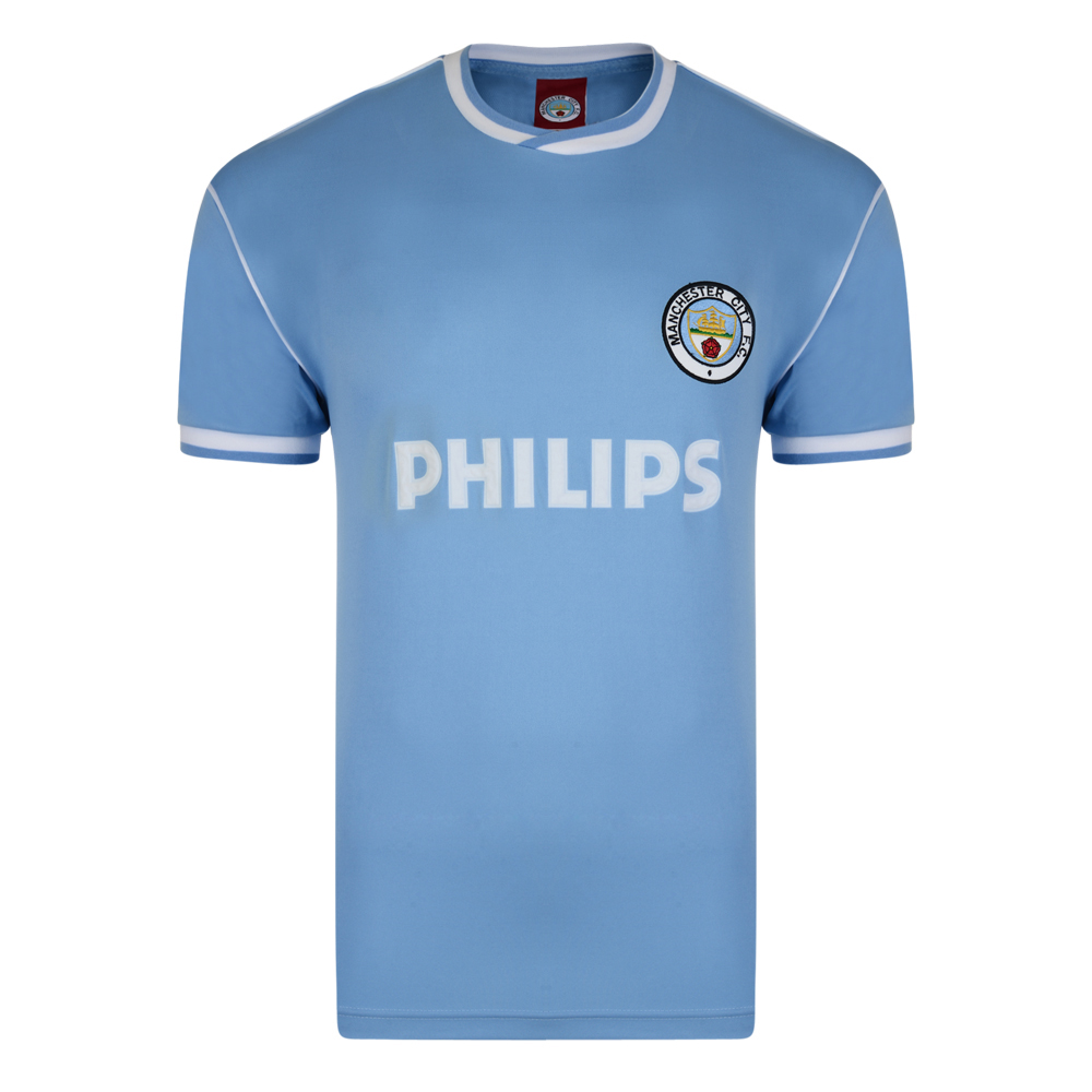 Manchester City 1986 Retro Football Shirt