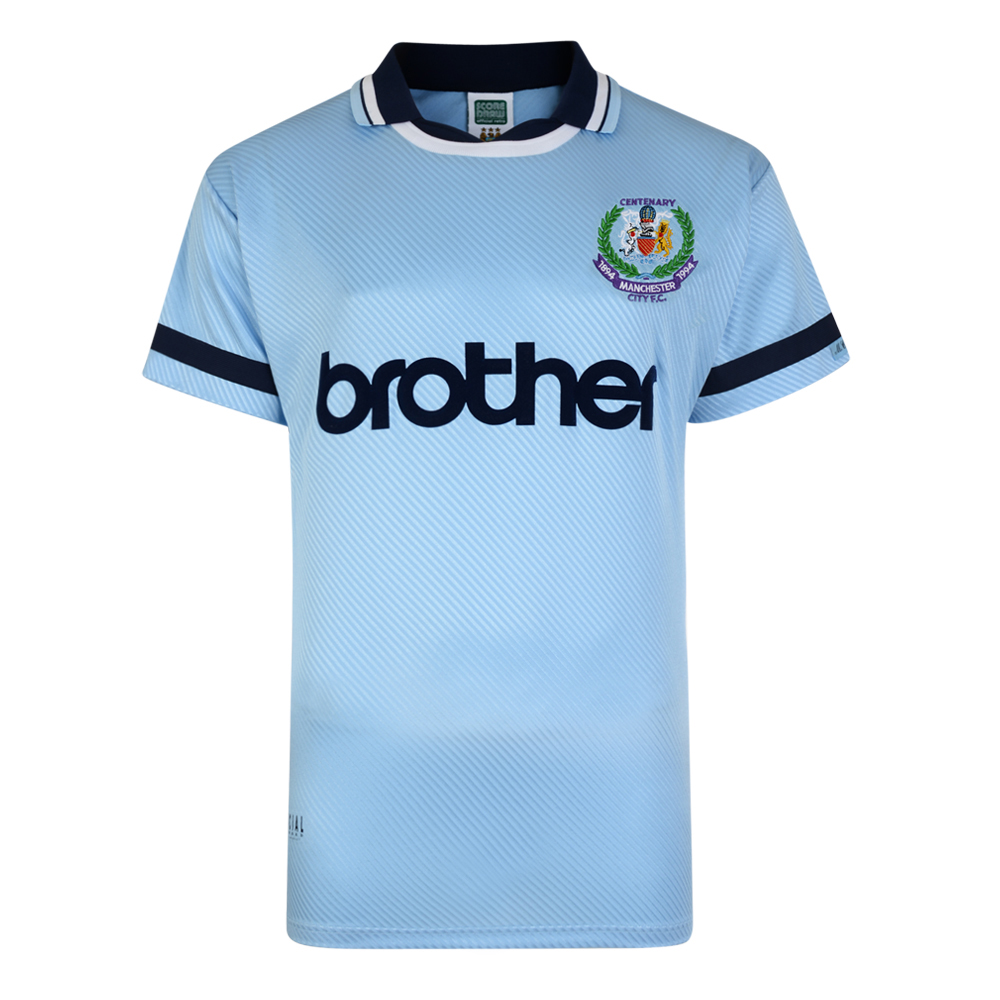 Manchester City 1994 Centenary Retro Shirt