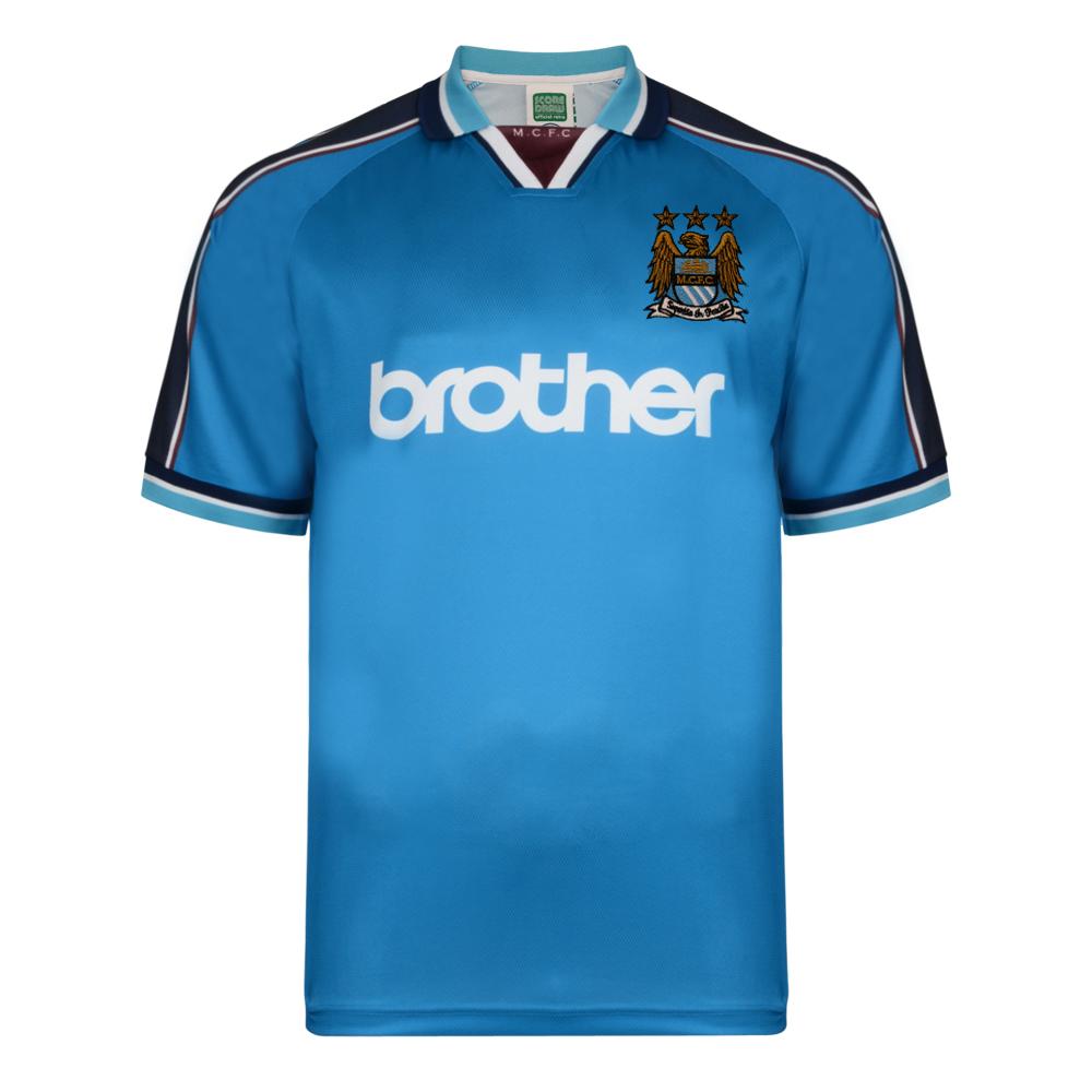 Manchester City 1998 Polyester Retro Shirt