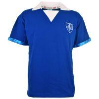 Chelsea FC S/Sleeve Kids Retro Football Shirt