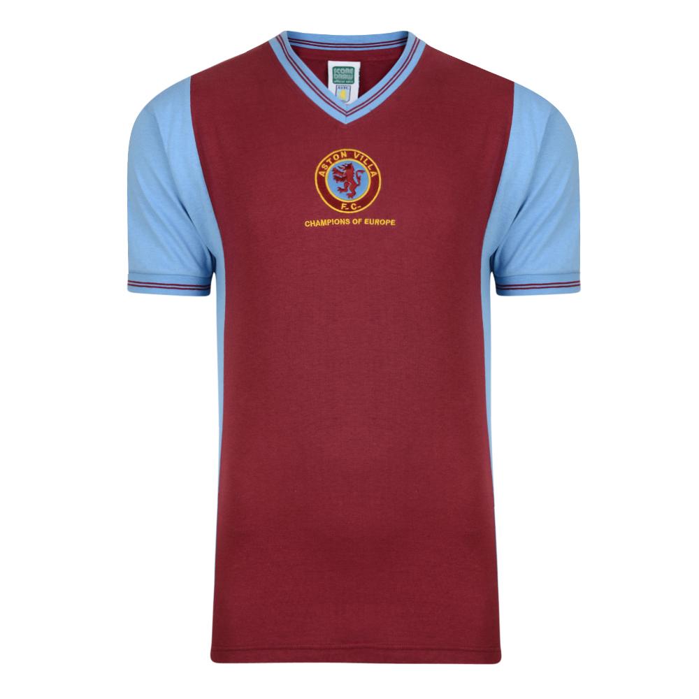 Aston Villa 1982 Champions of Europe Retro Shirt