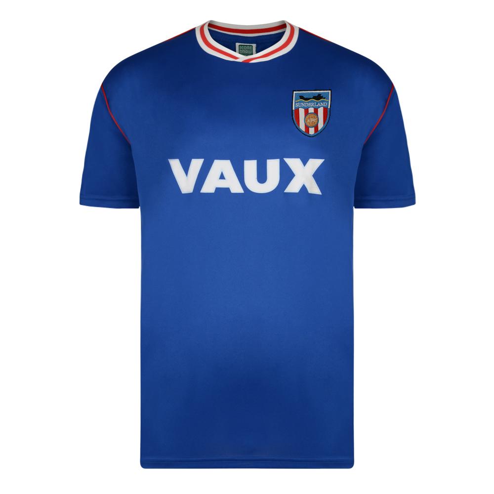 Sunderland 1990 Retro Football Away Shirt