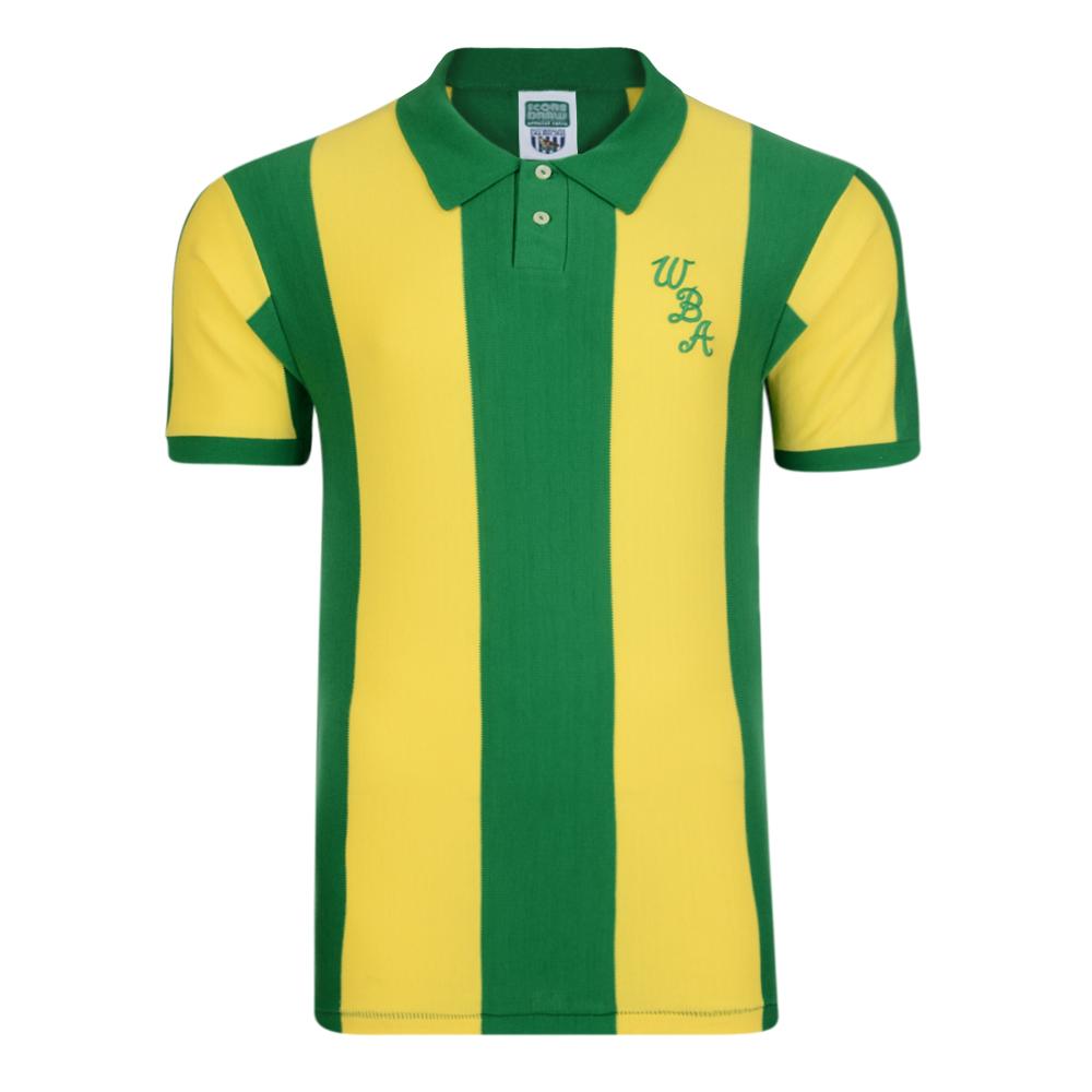 West Bromwich Albion 1978 Away Retro Shirt