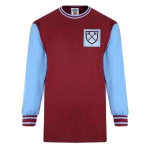 West Ham United 1966 Long Sleeve Retro Shirt
