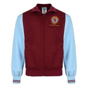 Aston Villa 1982 Retro Football Track Jacket