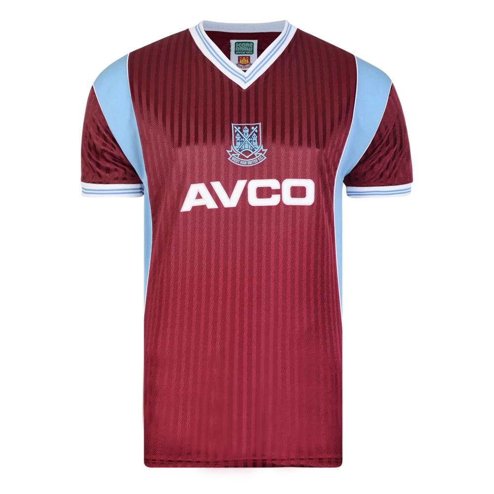 West Ham United 1988 Retro Football Shirt