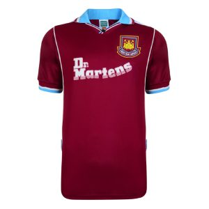 West Ham United 2000 Retro Football Shirt