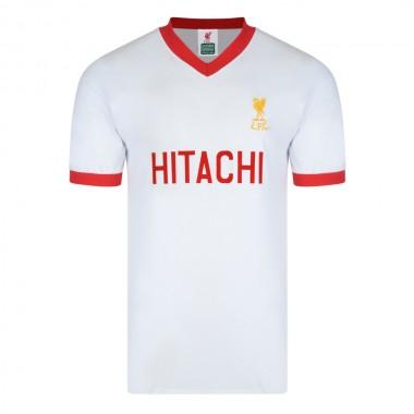 Liverpool 1978 Away Hitachi Retro Football Shirt