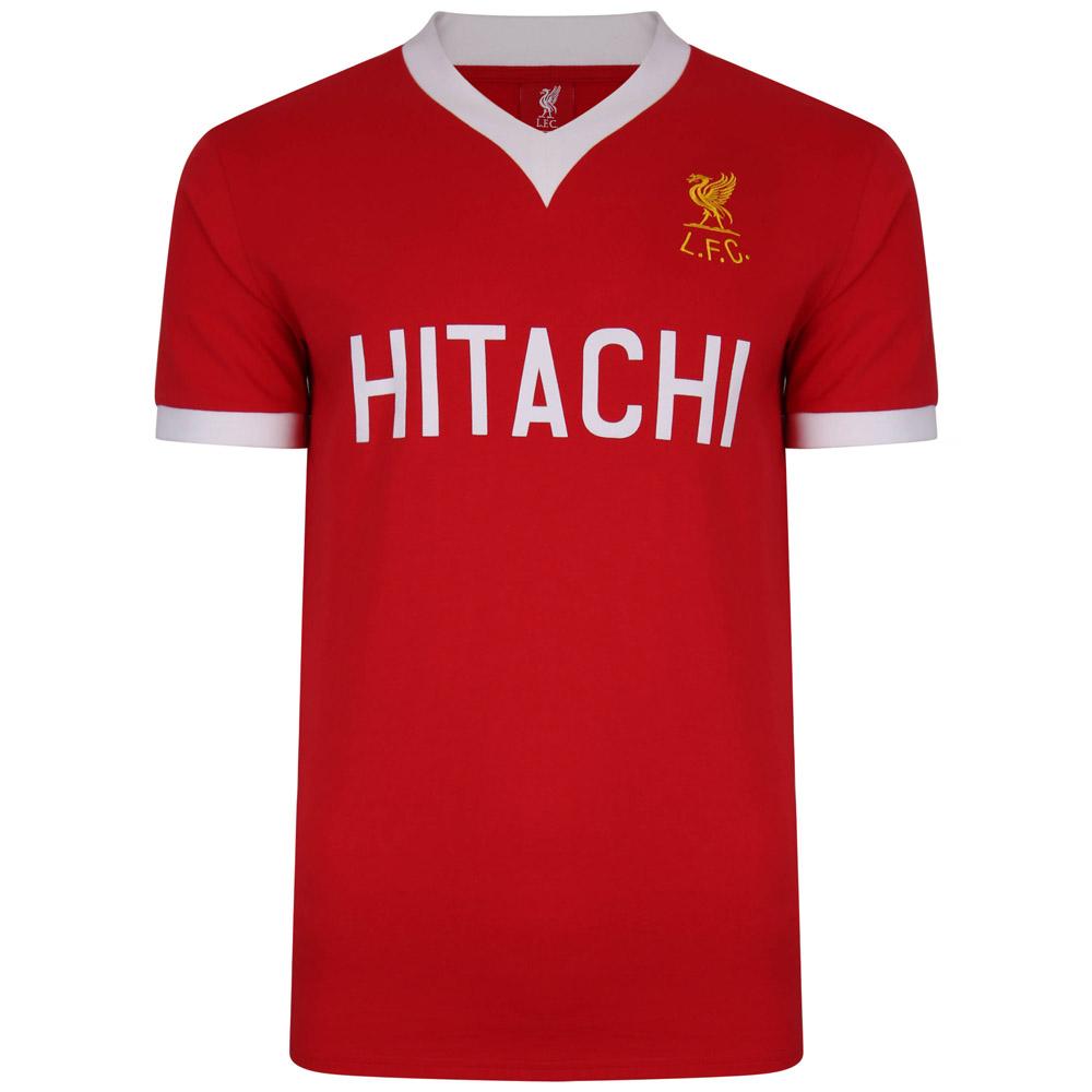 Liverpool FC 1978 Hitachi Retro Football Shirt