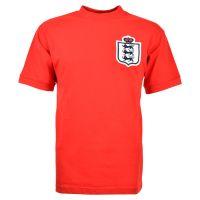 England Red Retro Football Shirt