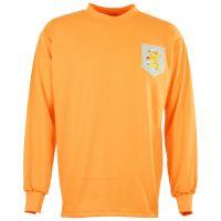 Holland 1960s Blue Badge Retro Football Shirt
