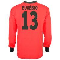 Portugal 1966 World Cup Eusebio 13 Retro Football Shirt