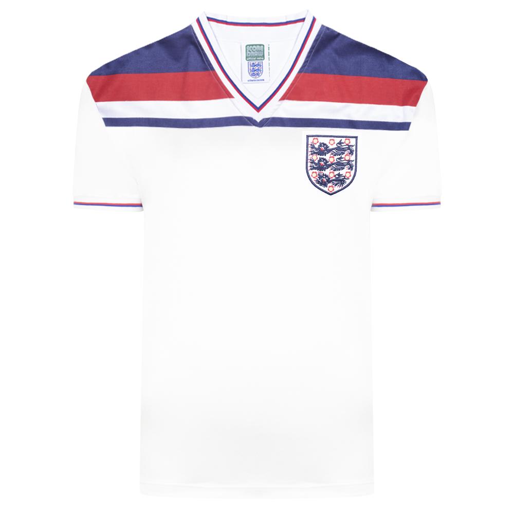England 1982 World Cup Finals Retro Shirt