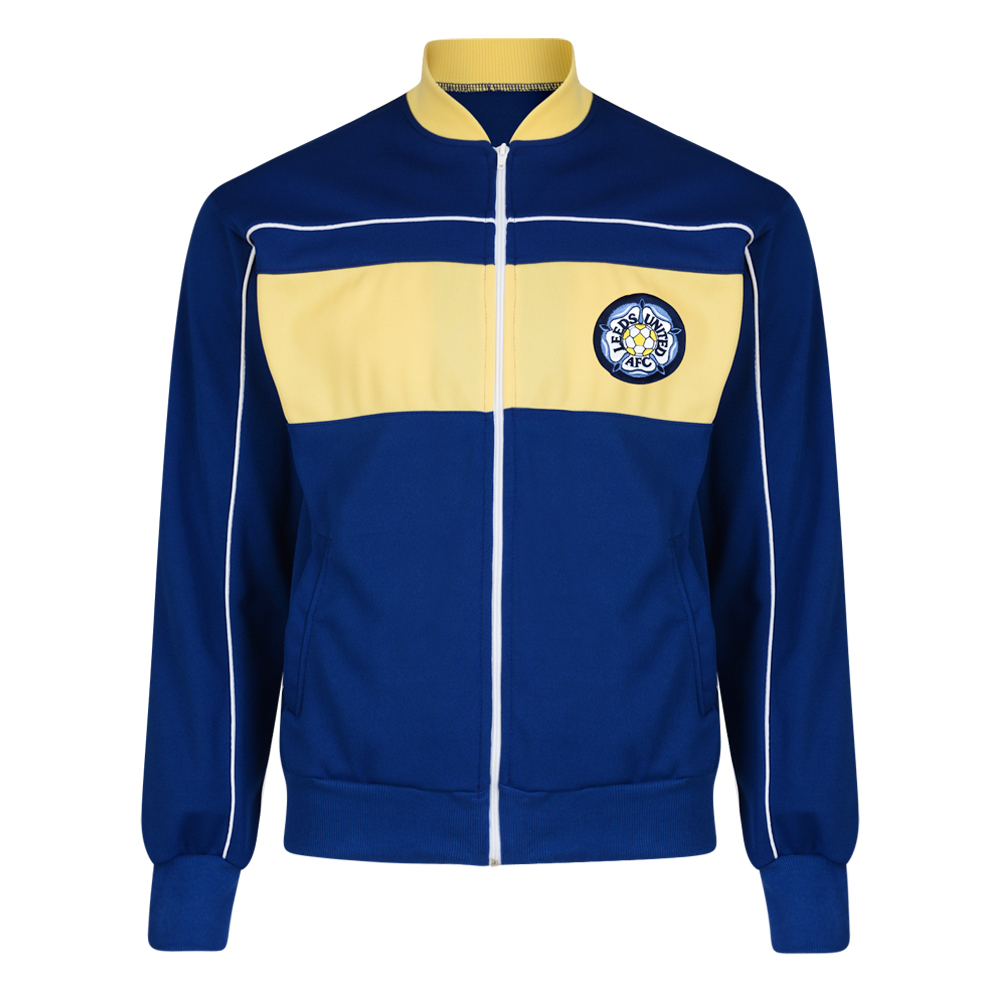 Leeds United 1984 Retro Track Jacket