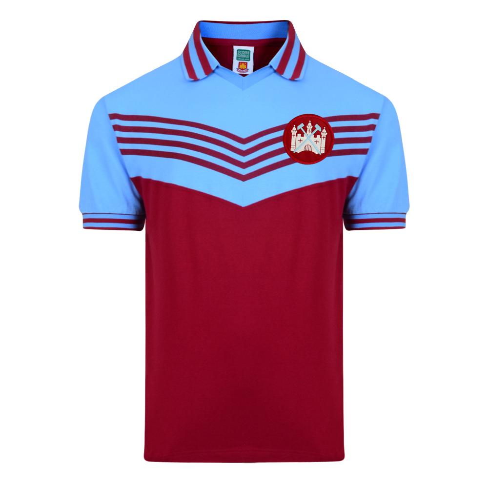 West Ham United 1976 Retro Football Shirt