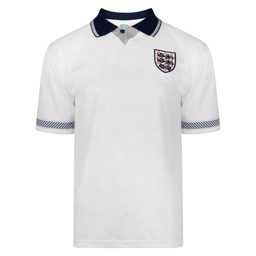 England 1990 World Cup Finals Retro Football Shirt