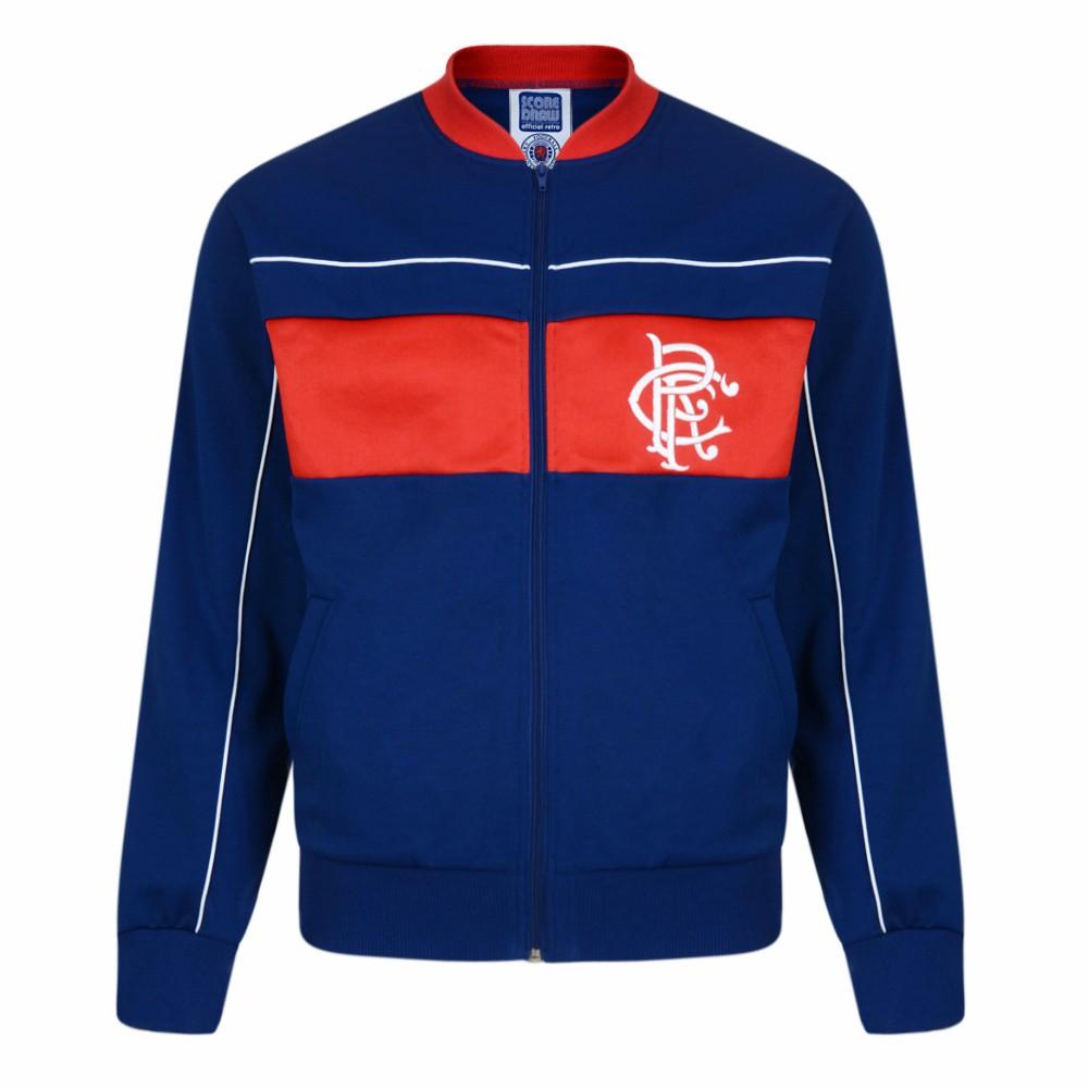 Rangers 1984 Retro Track Jacket