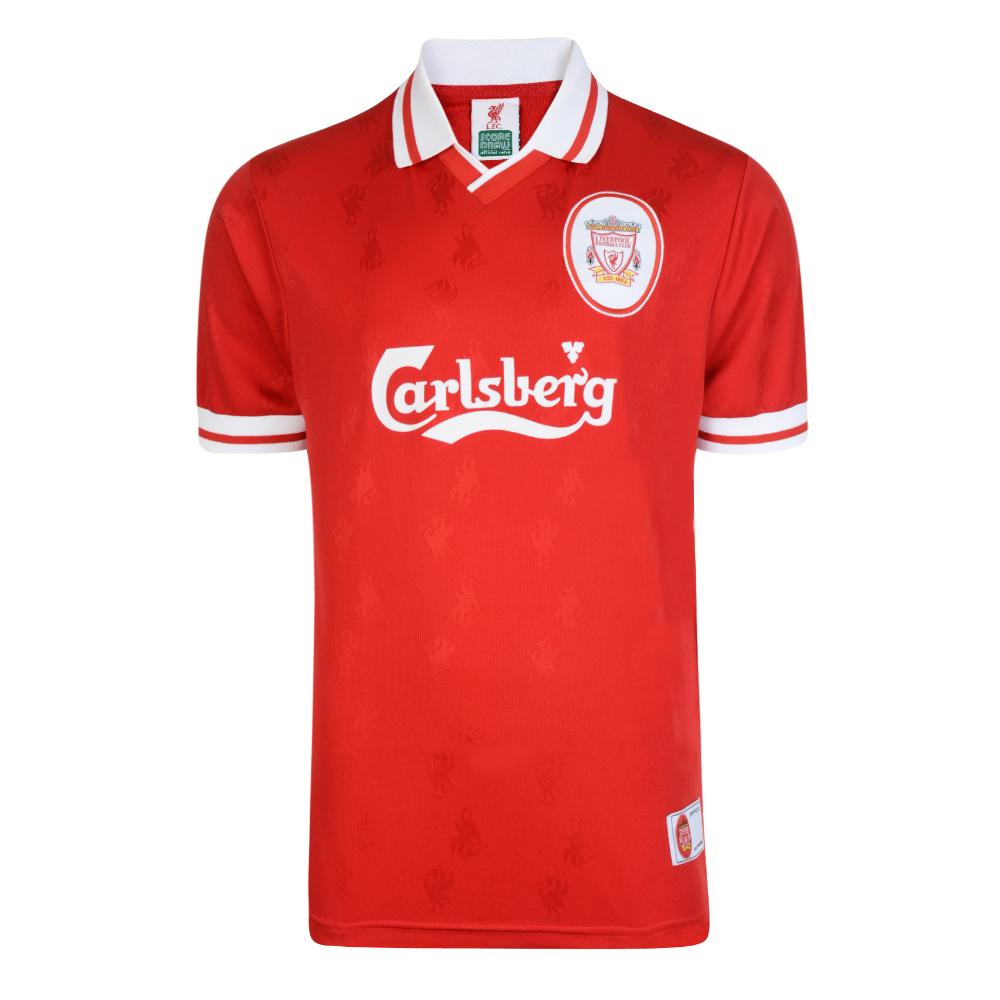 Liverpool FC 1996 Retro Football Shirt