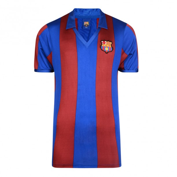 Barcelona 1982 Retro Football Shirt