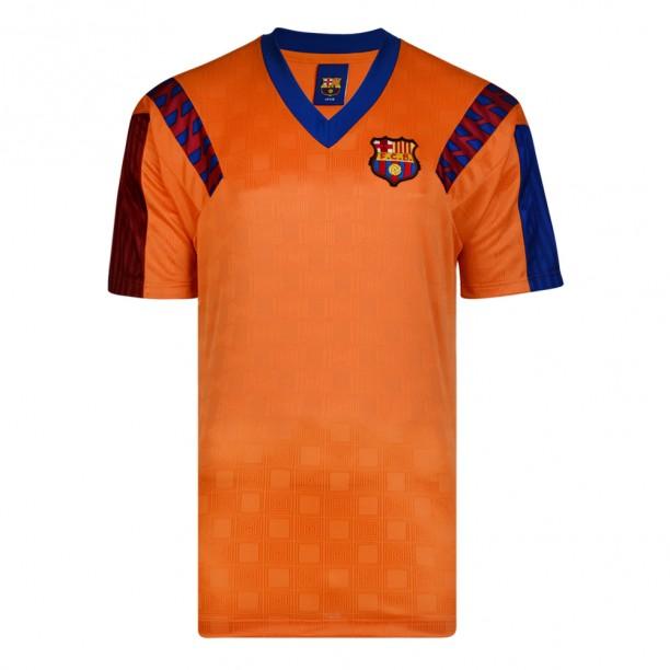 Barcelona 1992 European Cup Final Retro Shirt