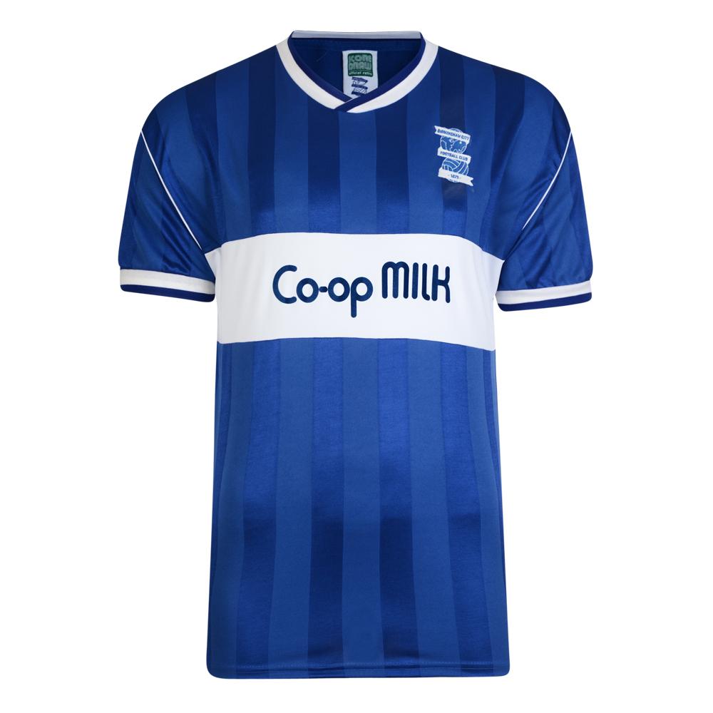 Birmingham City 1986 Retro Football Shirt