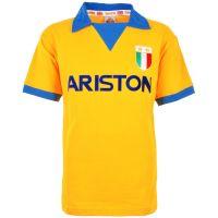 Juventus 1984-85 Gold Ariston Retro Football Shirt