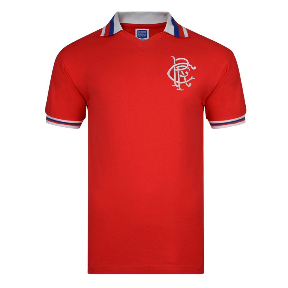 Rangers 1981 Away Retro Football Shirt
