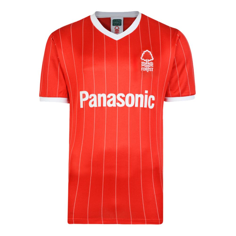 Nottingham Forest 1982 Retro Home Football Shirt