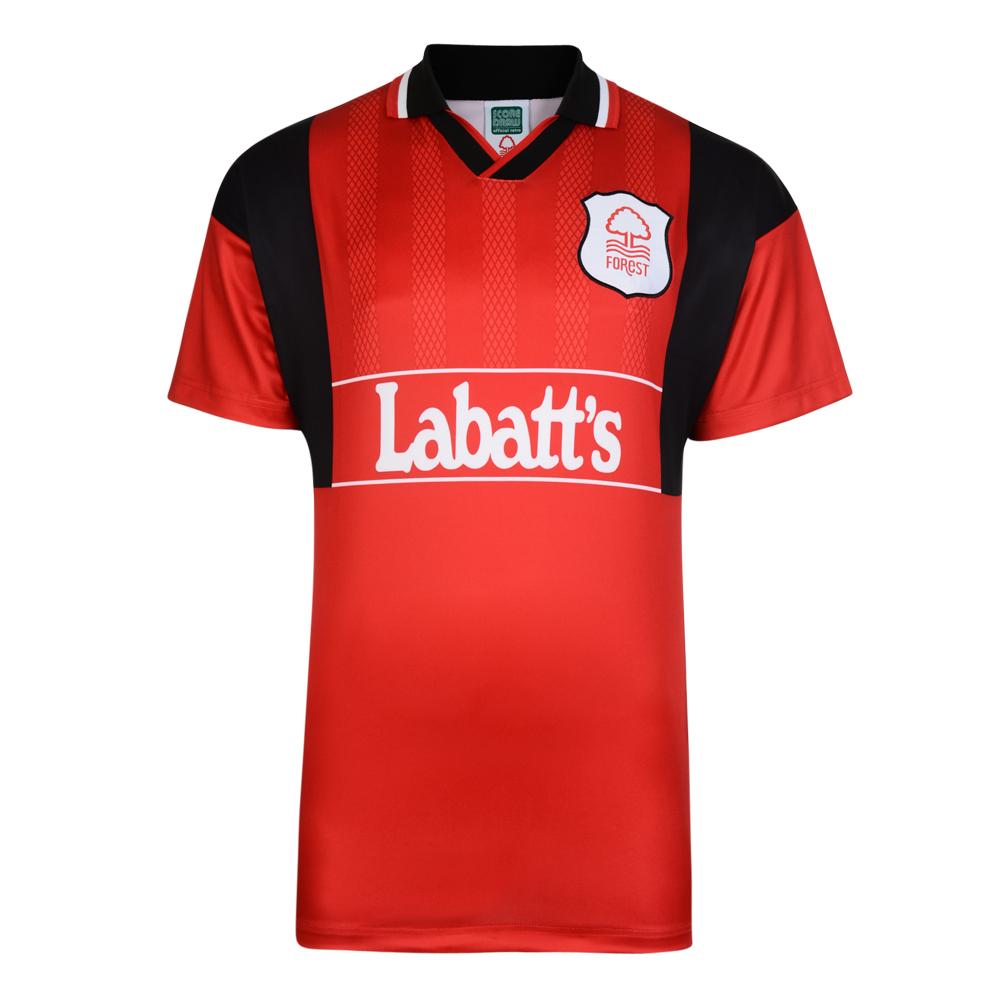 Nottingham Forest 1994 Retro Home Football Shirt