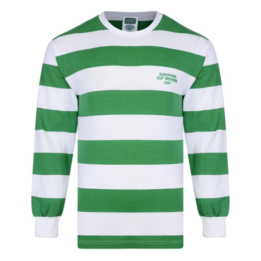 Celtic 1967 European Cup Winners LS Retro Shirt