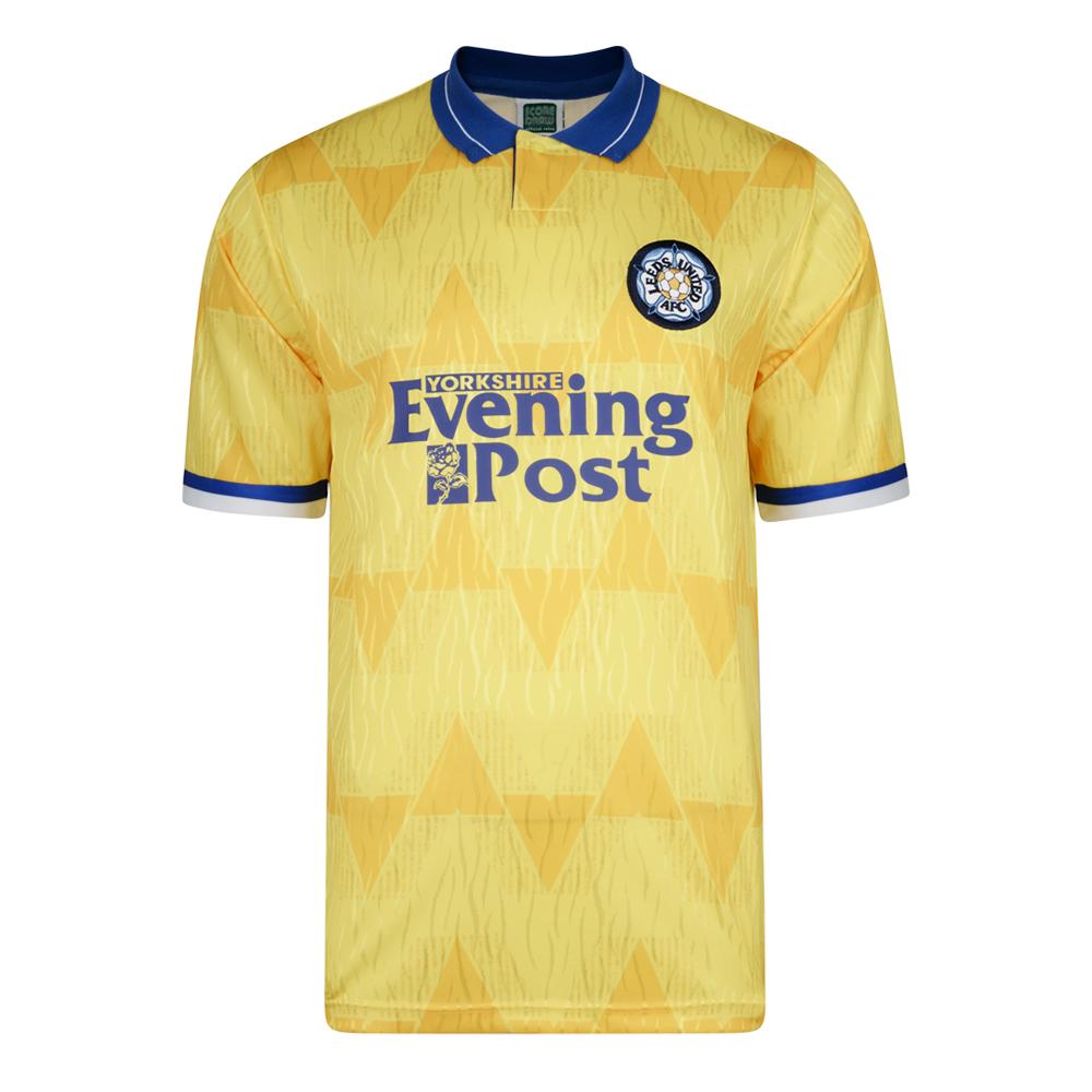 Leeds United 1992 Away Retro Football Shirt