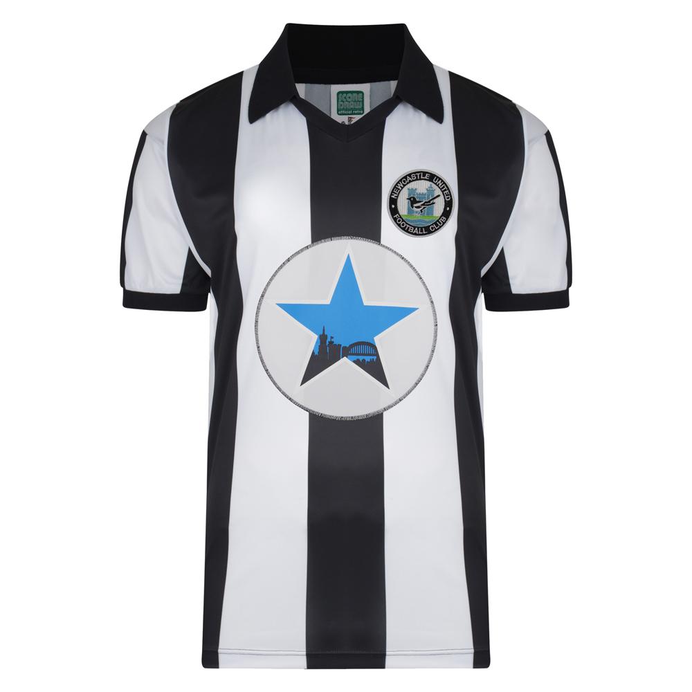 Newcastle United 1982 Polyester Retro Shirt