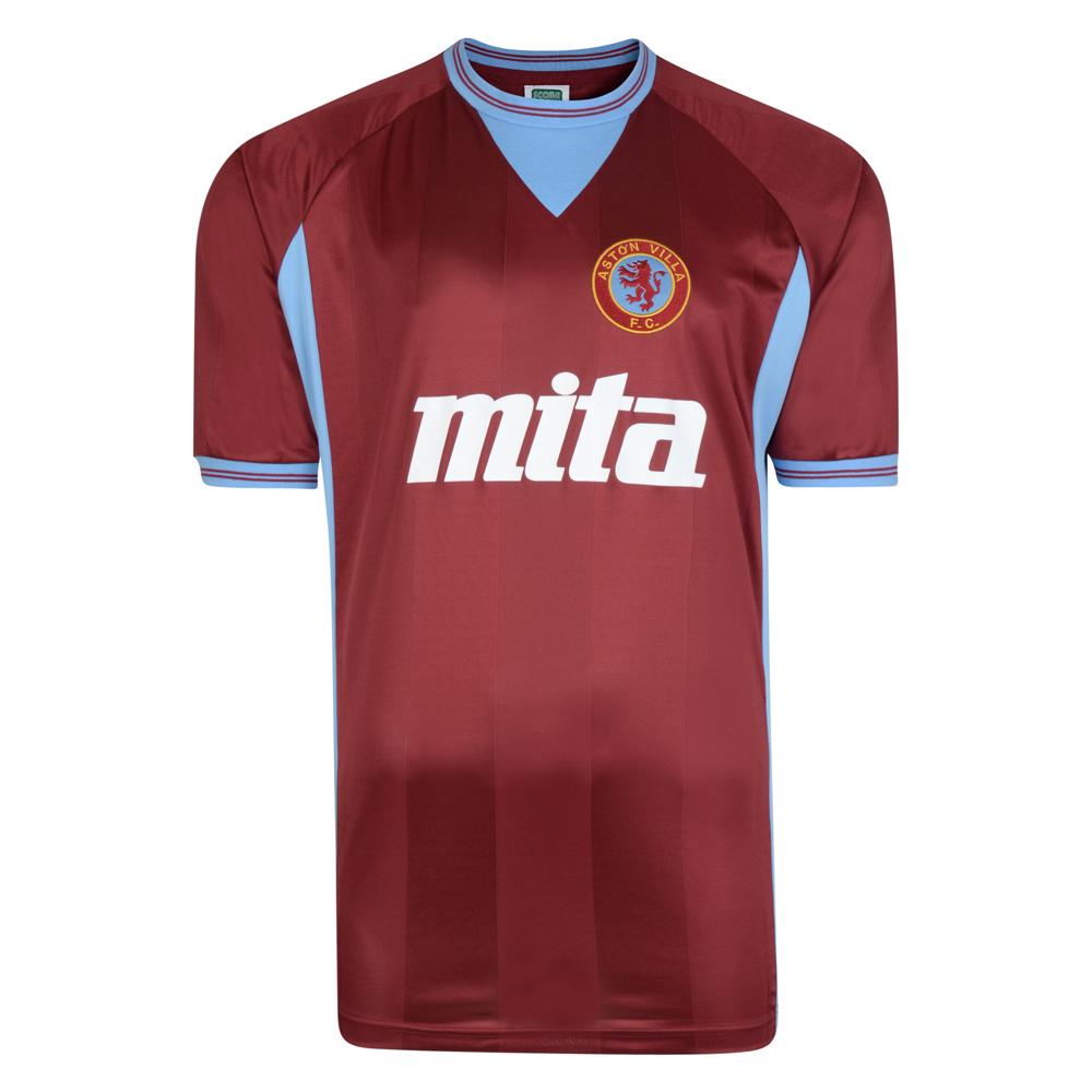 Aston Villa 1984 Retro Football Shirt