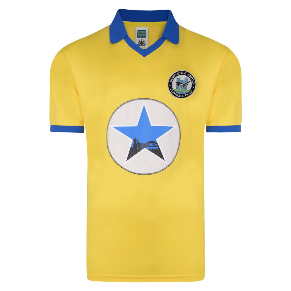Newcastle United 1982 Away Polyester Retro Shirt