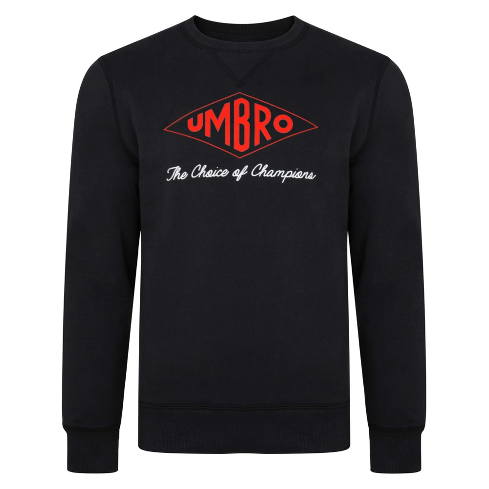 Umbro Choice of Champions Black Sweatshirt