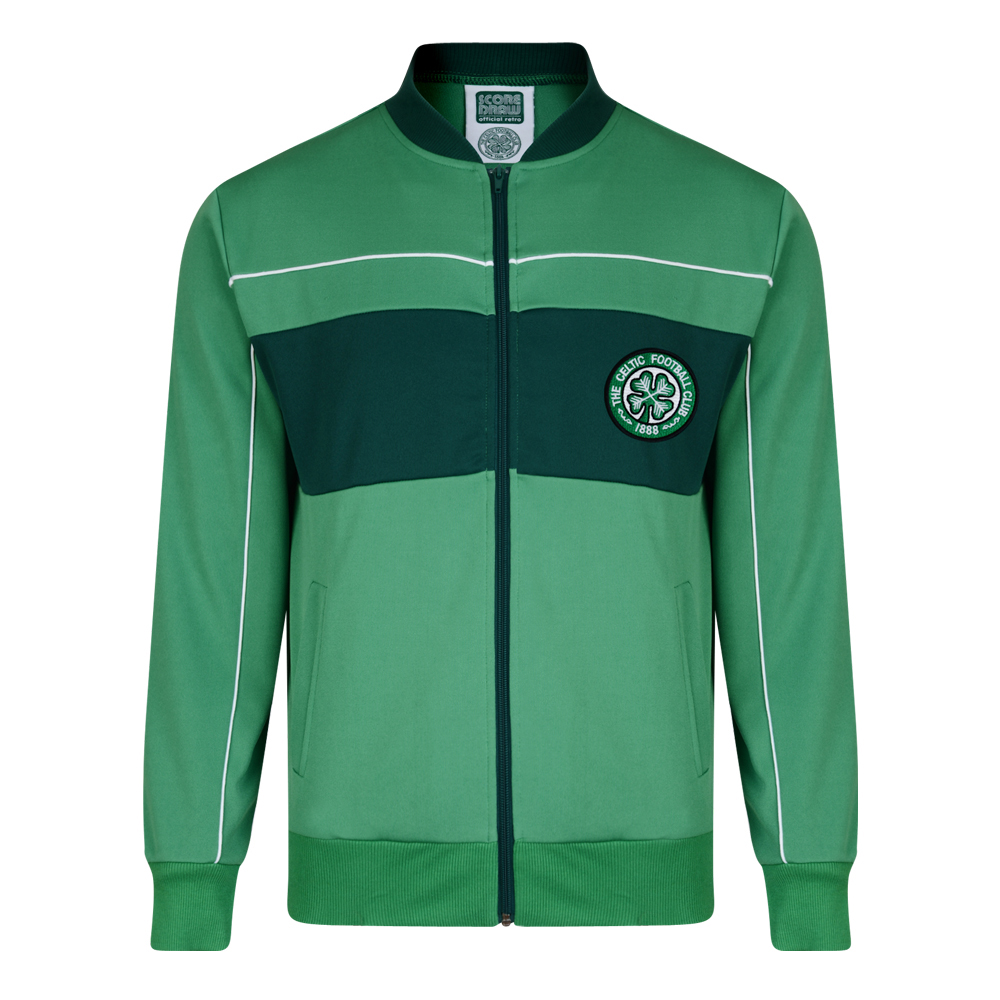 Celtic 1984 Retro Football Track Jacket