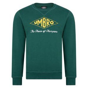 Umbro Choice of Champions Green Sweatshirt