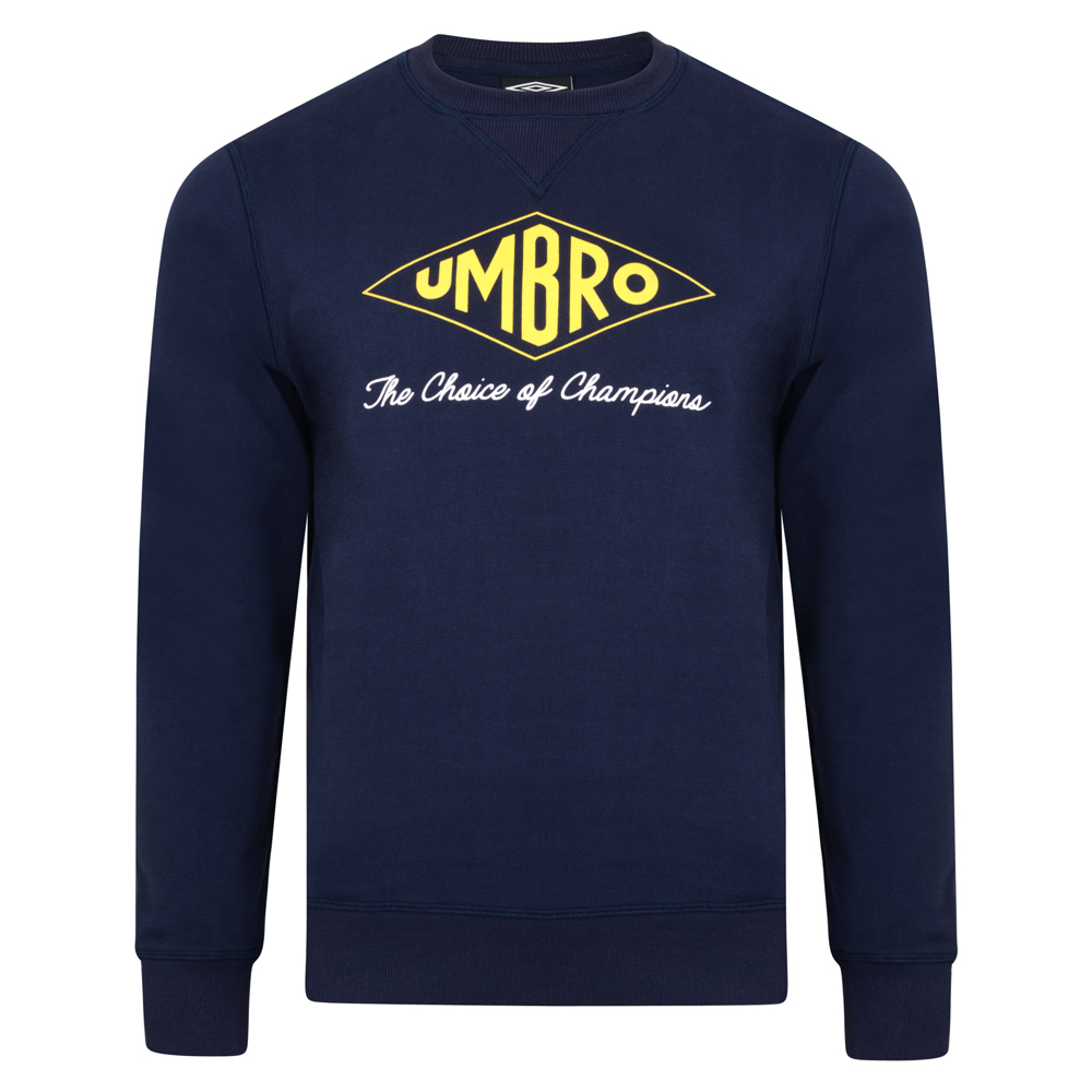 Umbro Choice of Champions Navy Sweatshirts